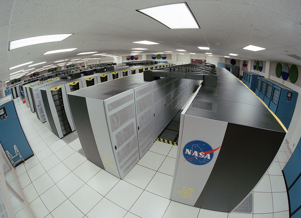 Imagine the amount of work that went into designing and manufacturing these! <br>NASA Advanced Supercomputing Facility, image courtesy of Wikimedia Commons/Trower, NASA.